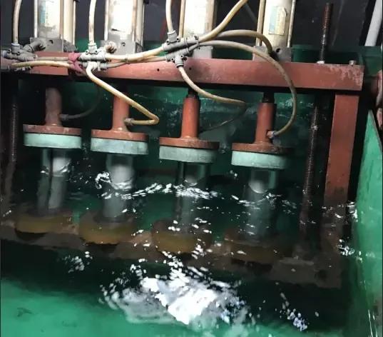Water leakage test