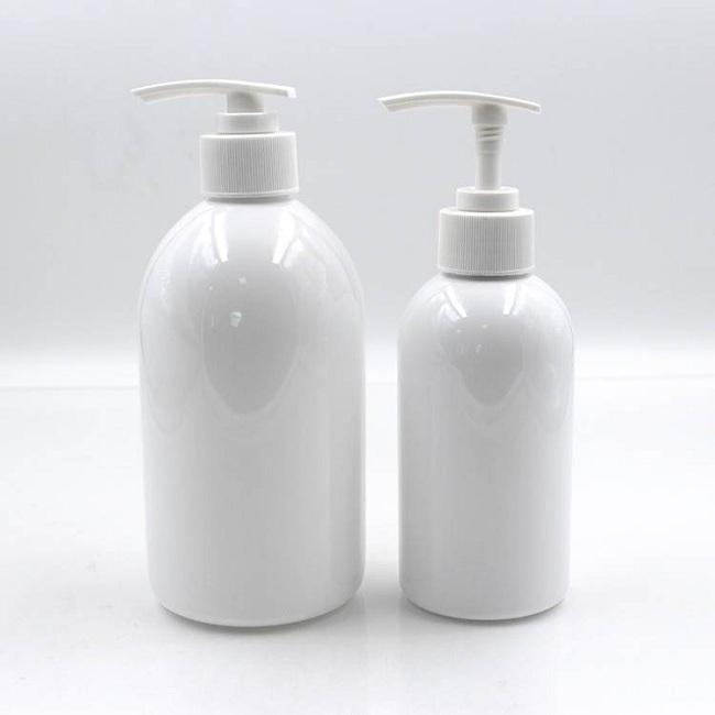 empty plastic bottles HDPE