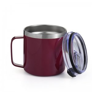 coffee mug with lid