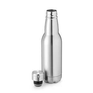 metal water flask