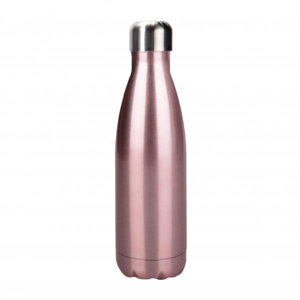 rose gold stainless steel water bottle