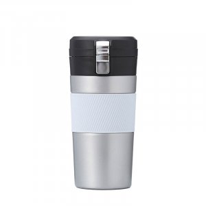 Vacuum thermos travel mug