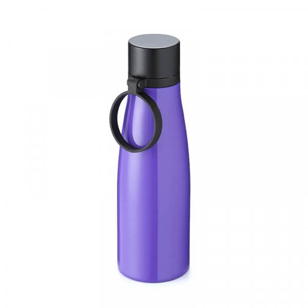 purple stainless steel water bottle 2