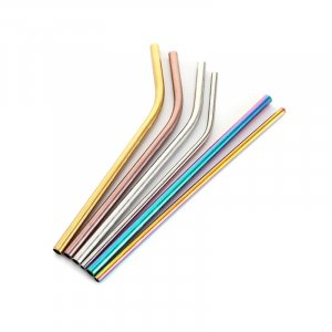 stainless steel drinking straws