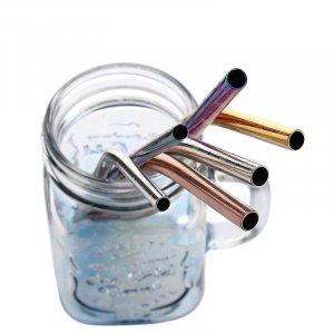 stainless steel drinking straws 6