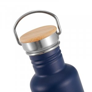 white stainless steel water bottle 7