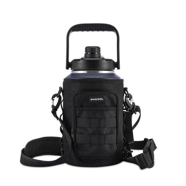 sling bag with water bottle holder