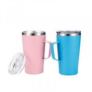 thermal mug with handle