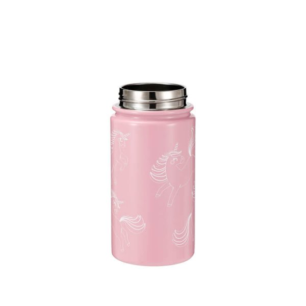 kids stainless steel water bottle with straw