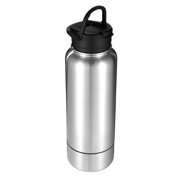 water bottle with storage 2