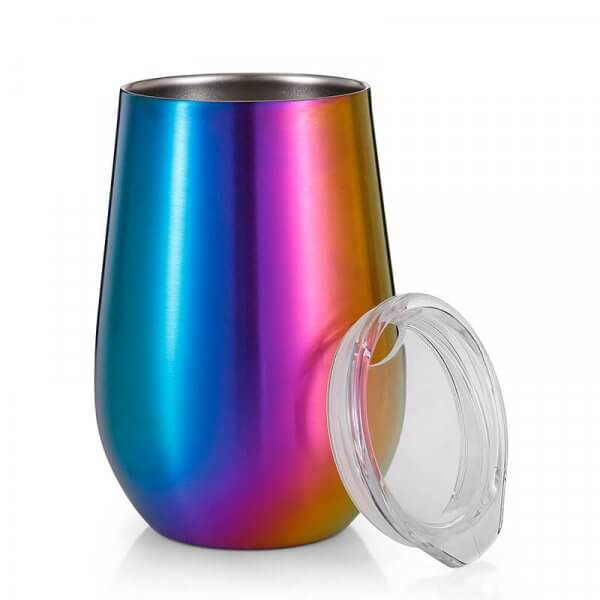 wine cups with lids